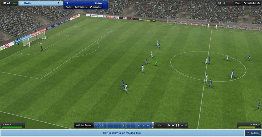 Screenshot ze hry Football Manager 2012 - Recenze-her.cz