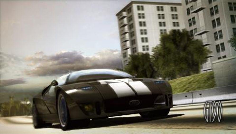 Screenshot ze hry Ford Street Racing: LA Duel - Recenze-her.cz