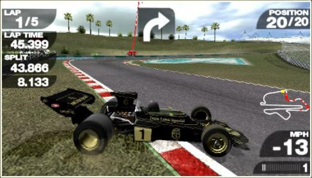 Screenshot ze hry Formula 1 Grand Prix - Recenze-her.cz