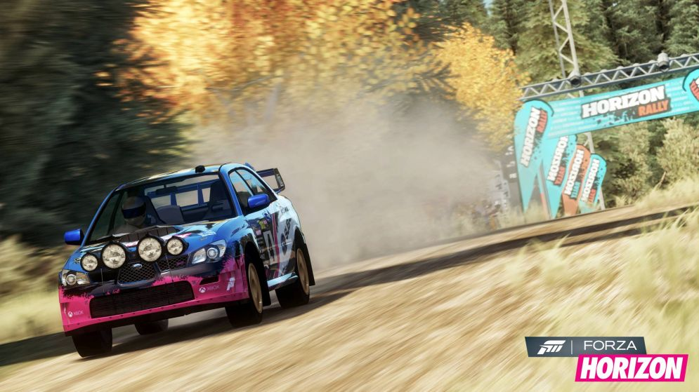 Screenshot ze hry Forza Horizon Rally Expansion Pack - Recenze-her.cz