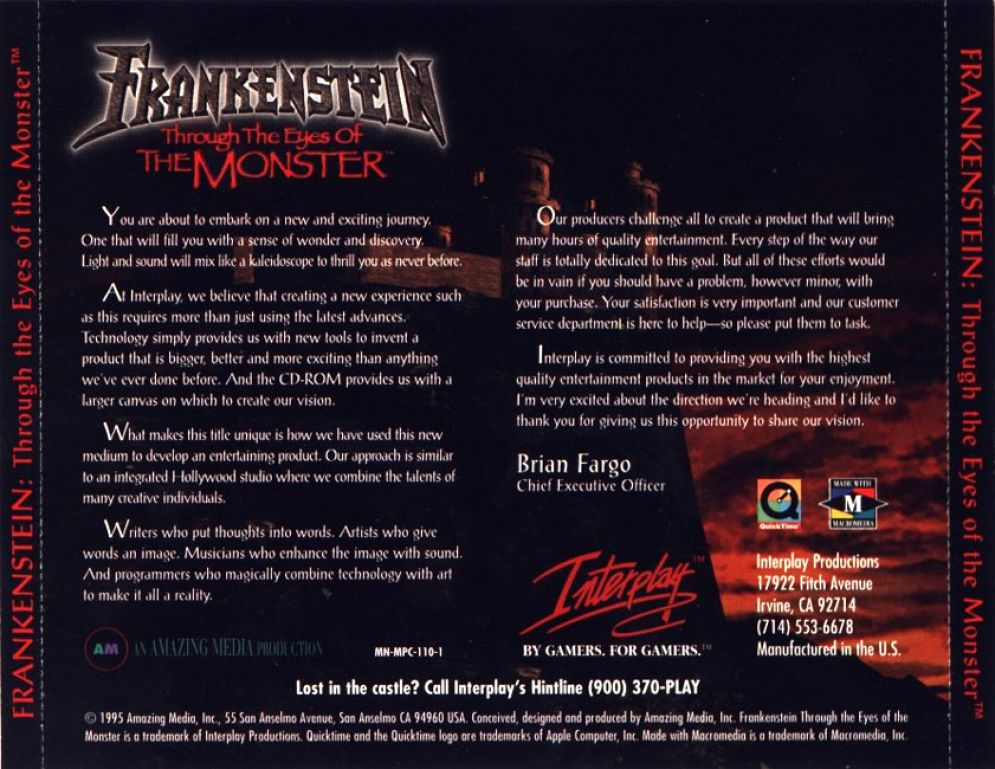 Screenshot ze hry Frankenstein: Through the Eyes of the Monster - Recenze-her.cz