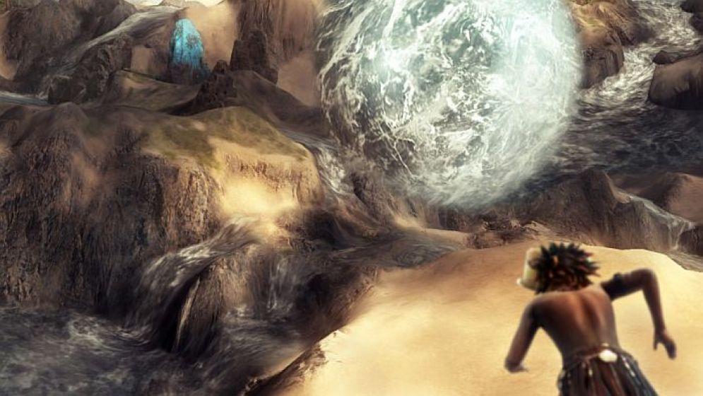 Screenshot ze hry From Dust - Recenze-her.cz