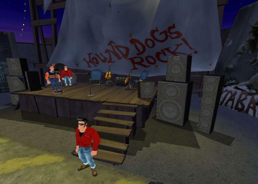 Screenshot ze hry FULL THROTTLE II - Recenze-her.cz