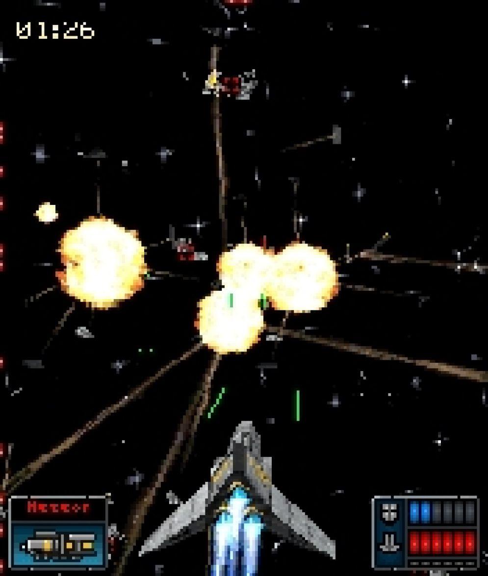 Screenshot ze hry Galaxy on Fire 3D - Recenze-her.cz