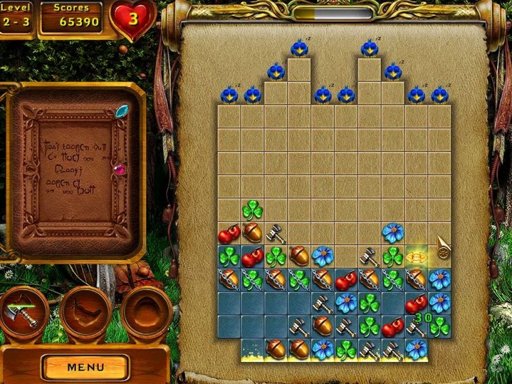 Screenshot ze hry Gallic Puzzle - Recenze-her.cz