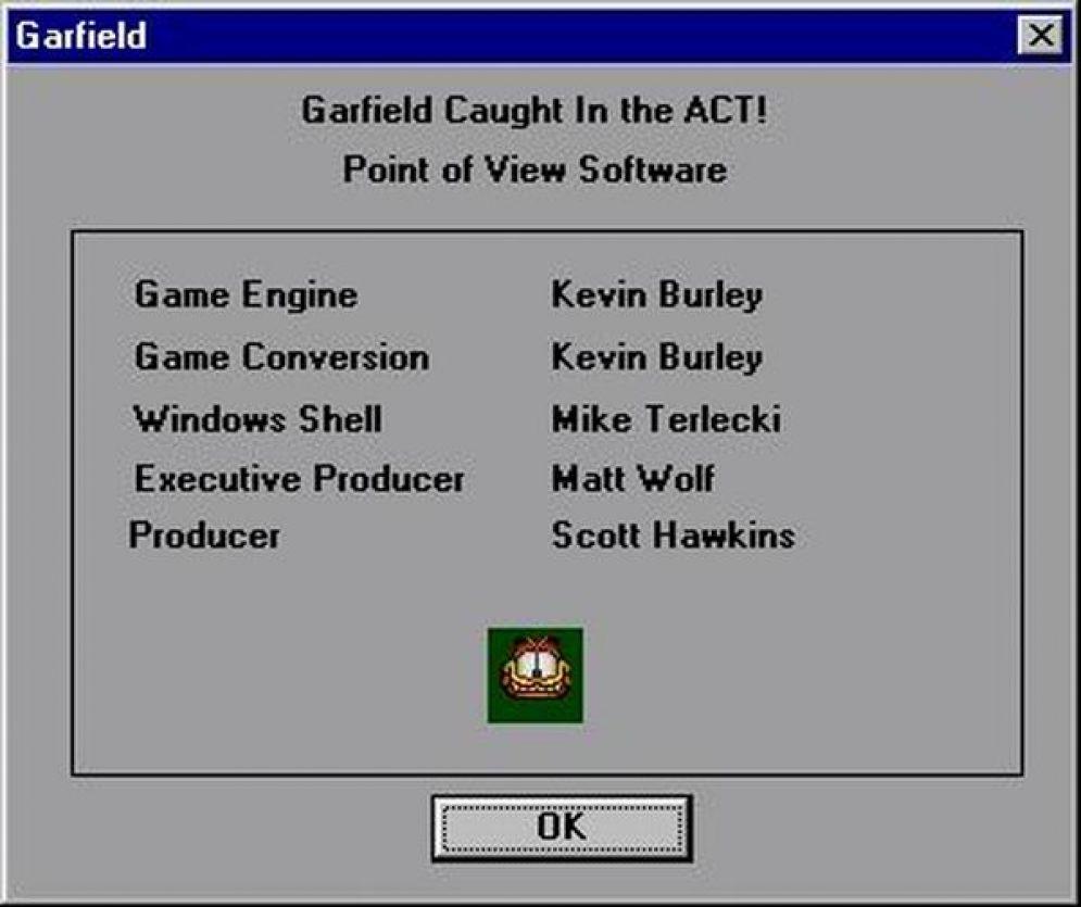 Screenshot ze hry Garfield: Caught in the Act - Recenze-her.cz