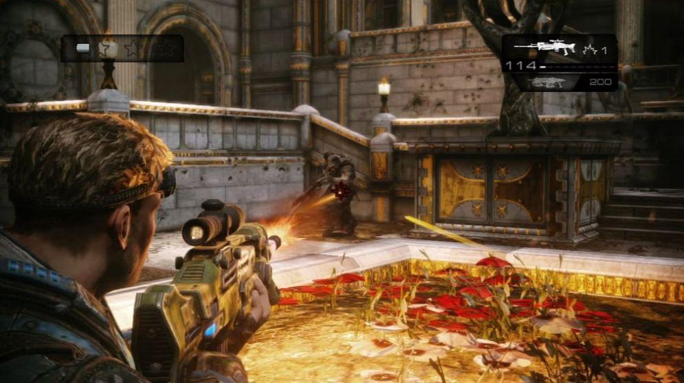 Screenshot ze hry Gears of War: Judgment - Recenze-her.cz