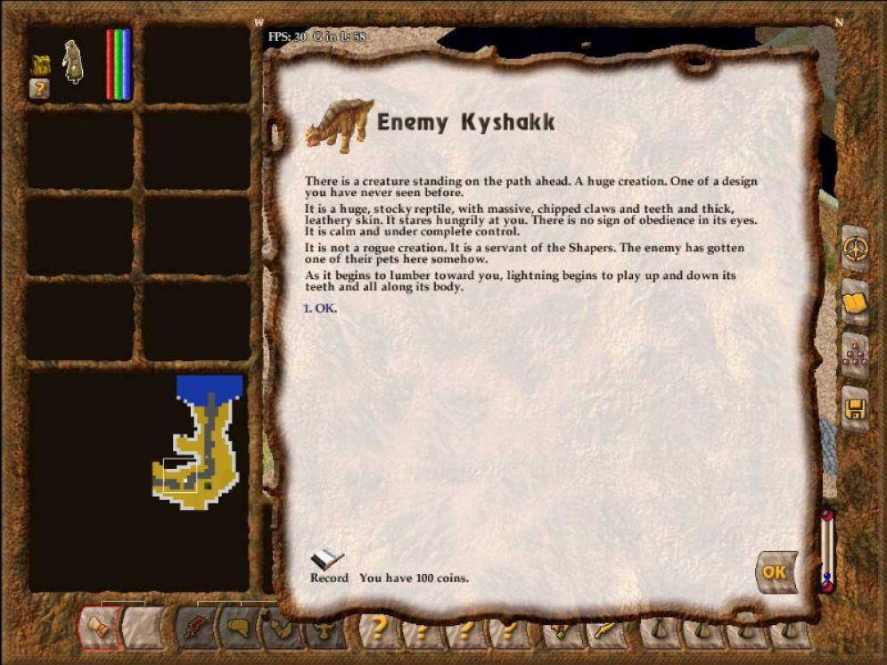Screenshot ze hry Geneforge 4: Rebelion - Recenze-her.cz