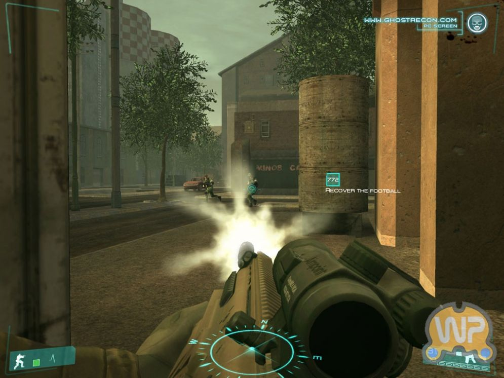 Screenshot ze hry Ghost Recon: Advanced Warfighter - Recenze-her.cz