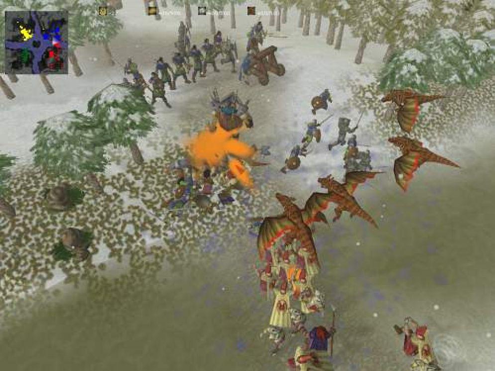 Screenshot ze hry Glest - Recenze-her.cz