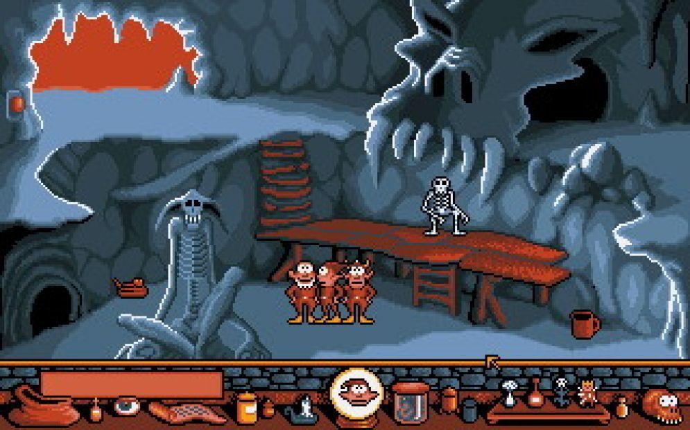 Screenshot ze hry Gobliiins - Recenze-her.cz