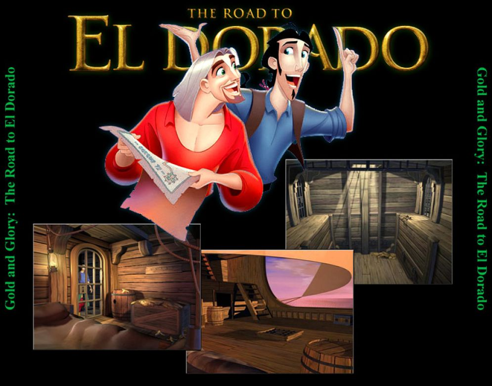 Screenshot ze hry Gold and Glory: The Road To El Dorado - Recenze-her.cz