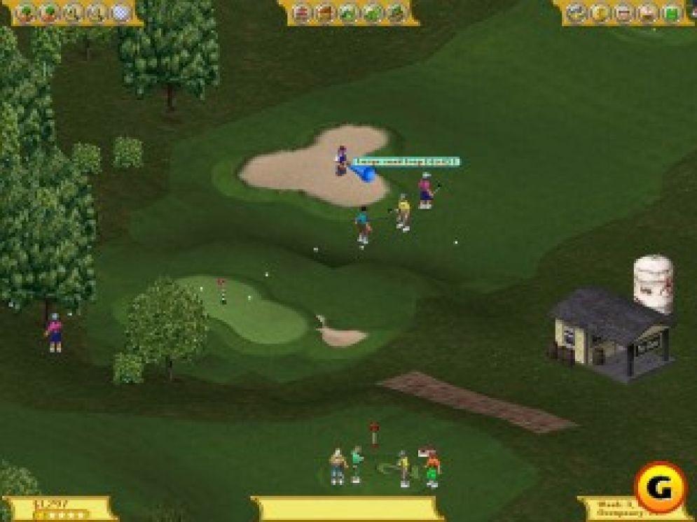 Screenshot ze hry Golf Resort Tycoon - Recenze-her.cz