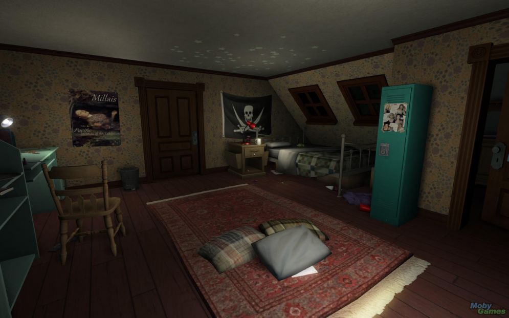 Screenshot ze hry Gone Home - Recenze-her.cz