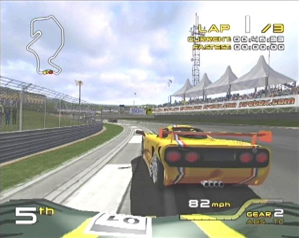 Screenshot ze hry Grand Tour Racing 400 - Recenze-her.cz