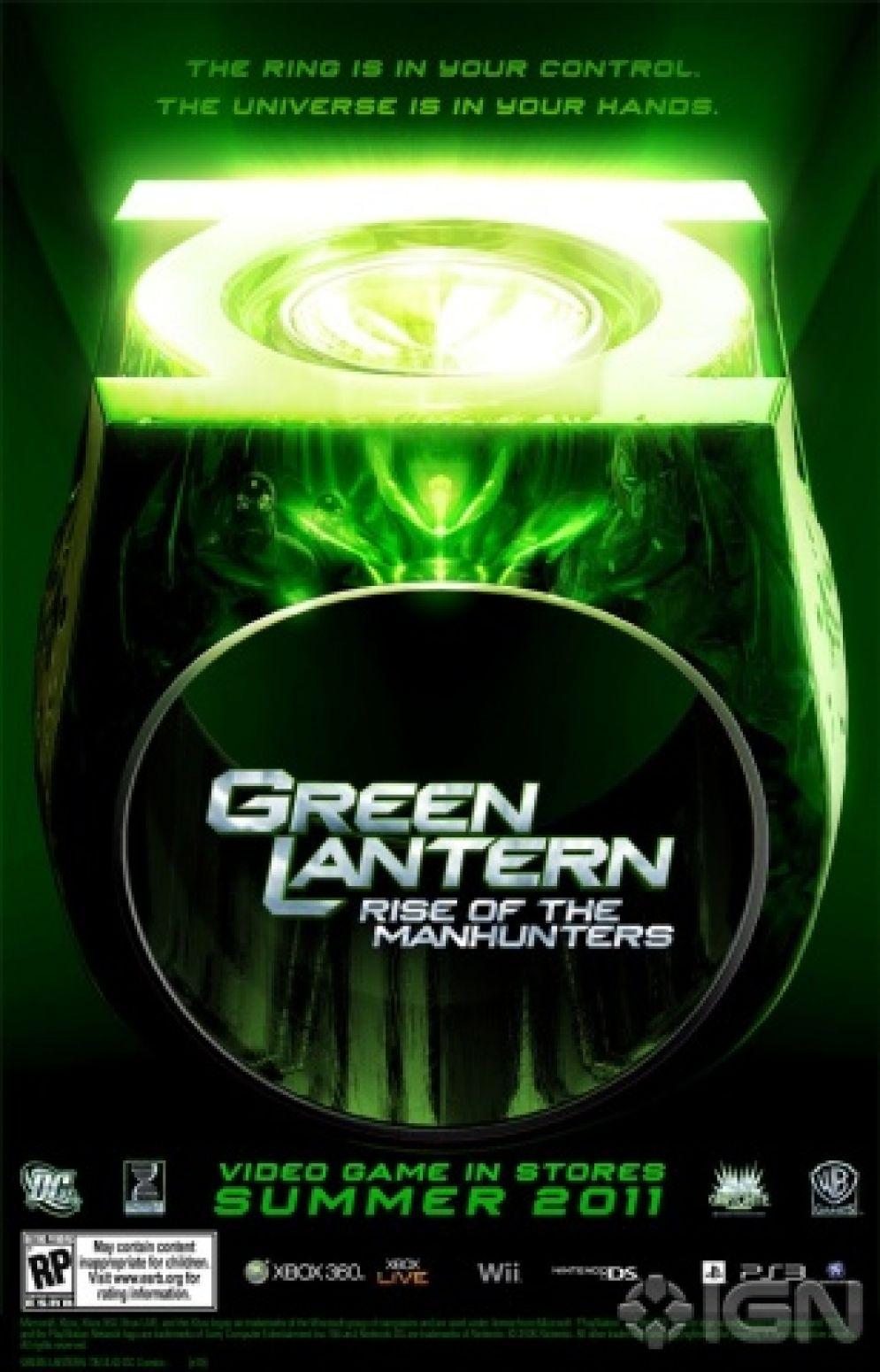 Screenshot ze hry Green Lantern: Rise of the Manhunters - Recenze-her.cz