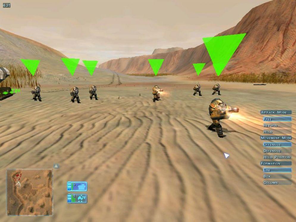 Screenshot ze hry Ground Control - Recenze-her.cz