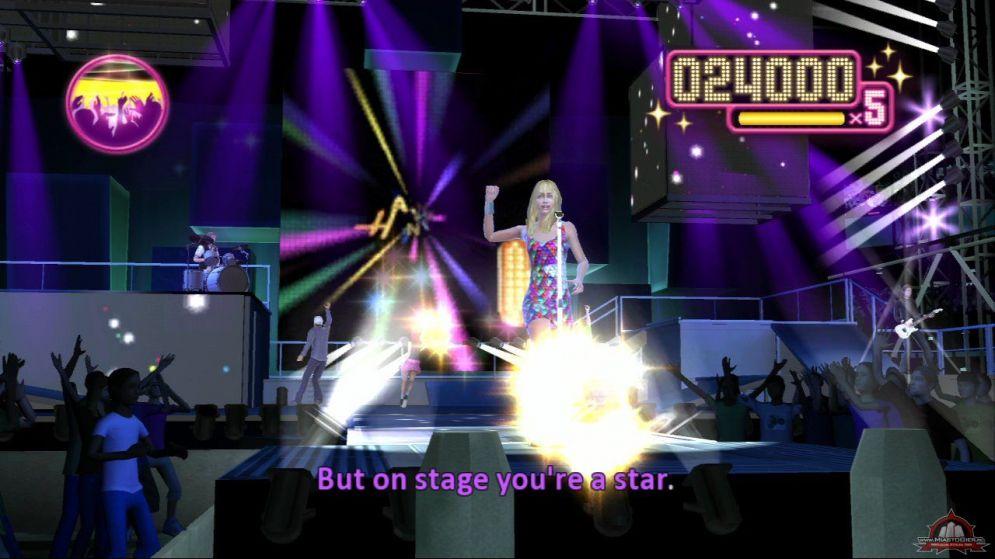Screenshot ze hry Hannah Montana: The Movie - Recenze-her.cz