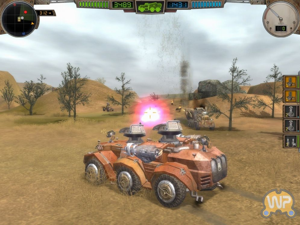 Screenshot ze hry Hard Truck: Apocalypse - Recenze-her.cz