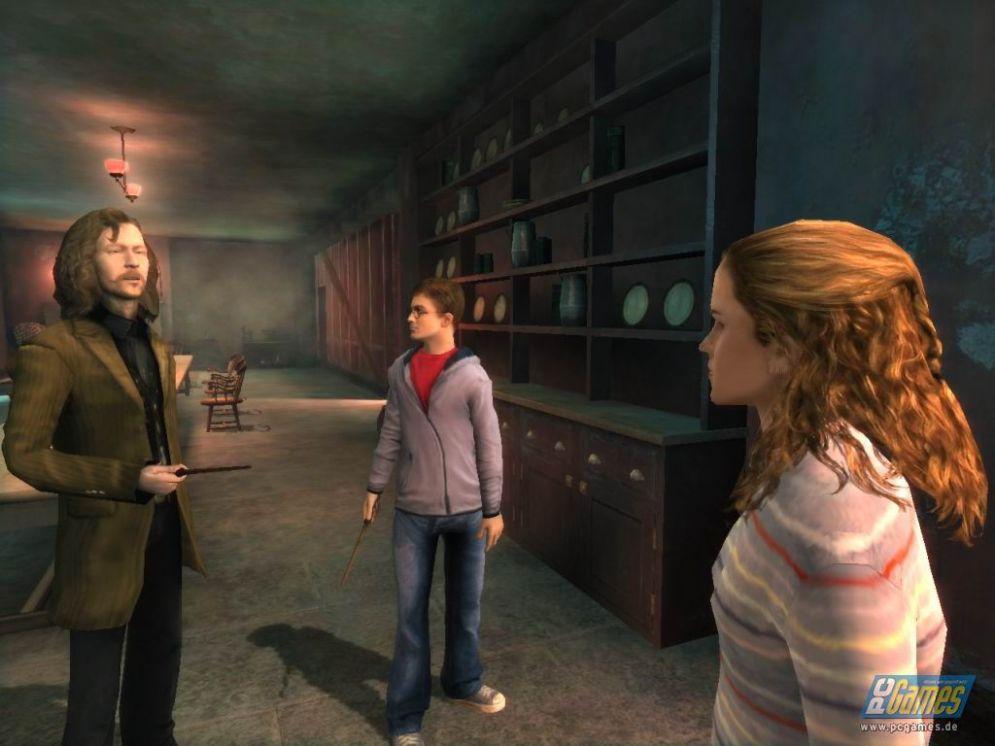 Screenshot ze hry Harry Potter a Fénixův řád - Recenze-her.cz