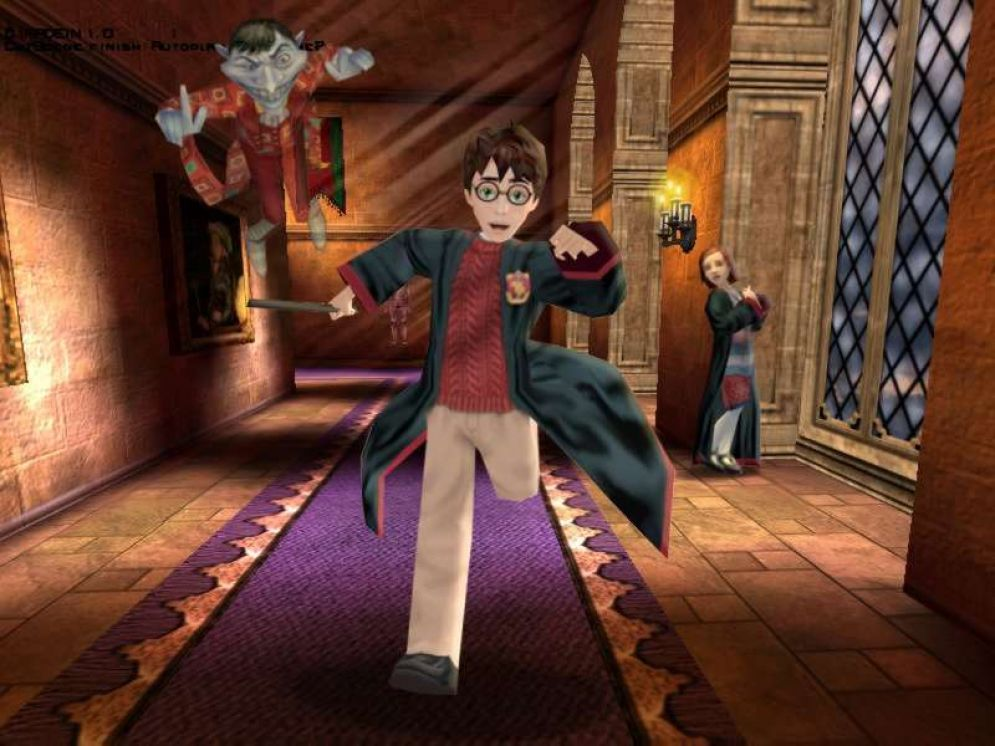 Screenshot ze hry Harry Potter a Tajemná komnata - Recenze-her.cz