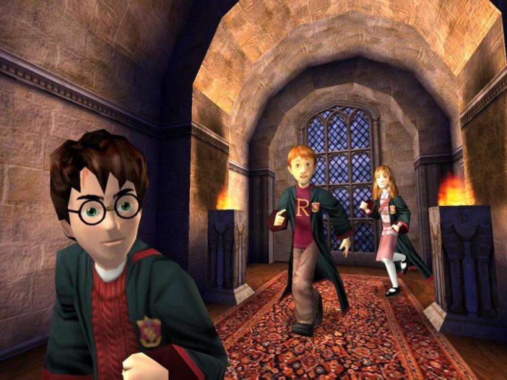 Screenshot ze hry Harry Potter and the Sorcerer´s Stone - Recenze-her.cz