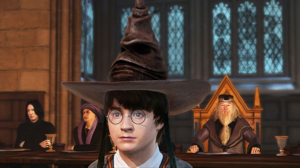 Screenshot ze hry Harry Potter for Kinect - Recenze-her.cz