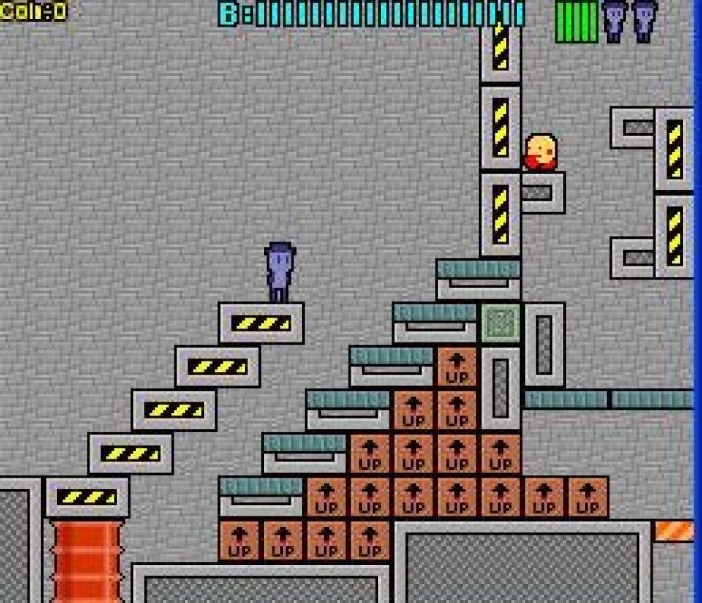 Screenshot ze hry HatMan - Recenze-her.cz