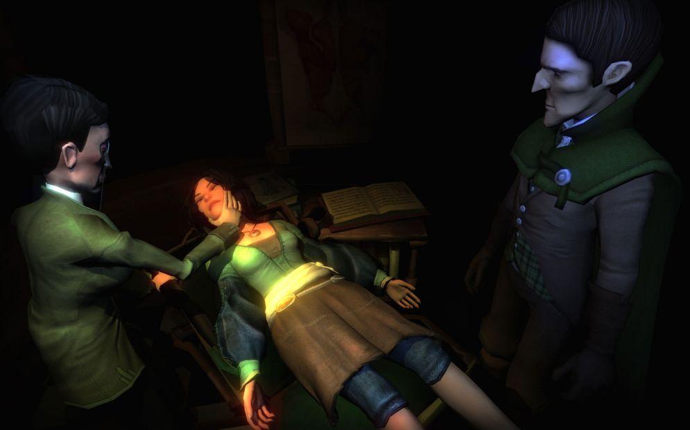 Screenshot ze hry Haunted - Recenze-her.cz