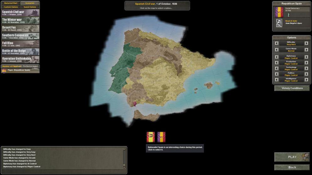 Screenshot ze hry Hearts of Iron 3: Their Finest Hour - Recenze-her.cz