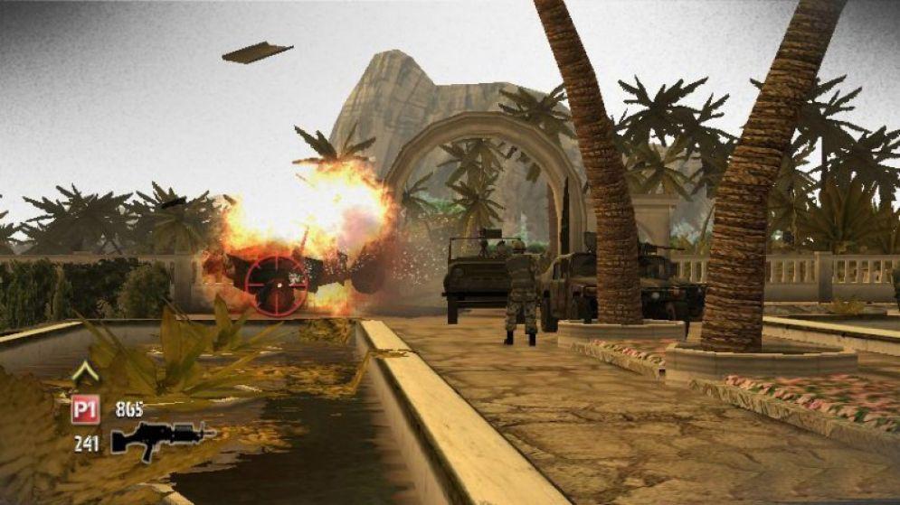 Screenshot ze hry Heavy Fire: Black Arms - Recenze-her.cz
