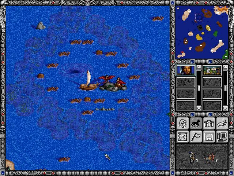 Screenshot ze hry Heroes of Might and Magic 2: Price of Loyalty - Recenze-her.cz