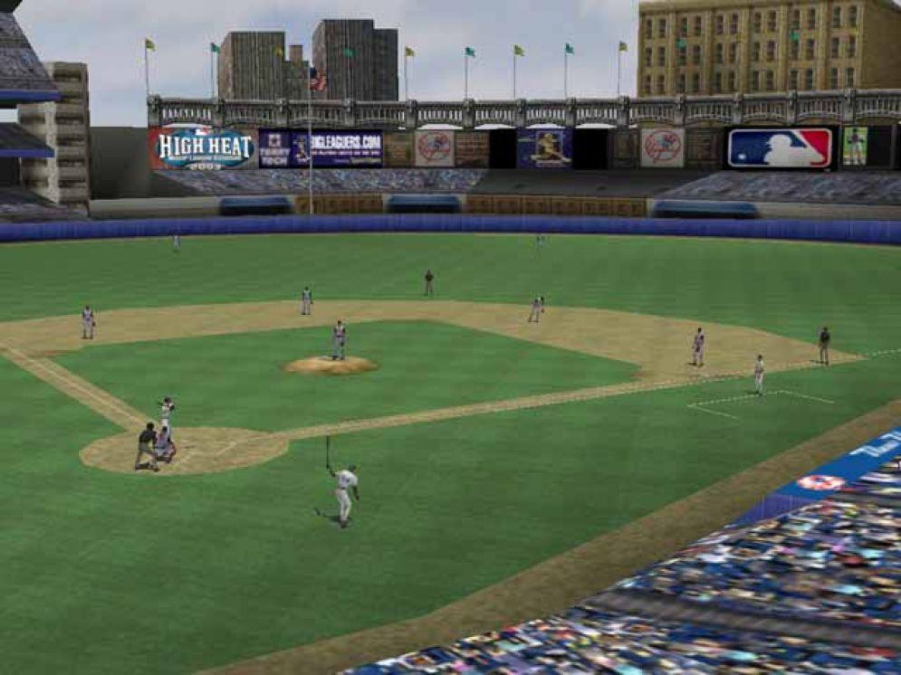 Screenshot ze hry High Heat Major League Baseball 2003  - Recenze-her.cz