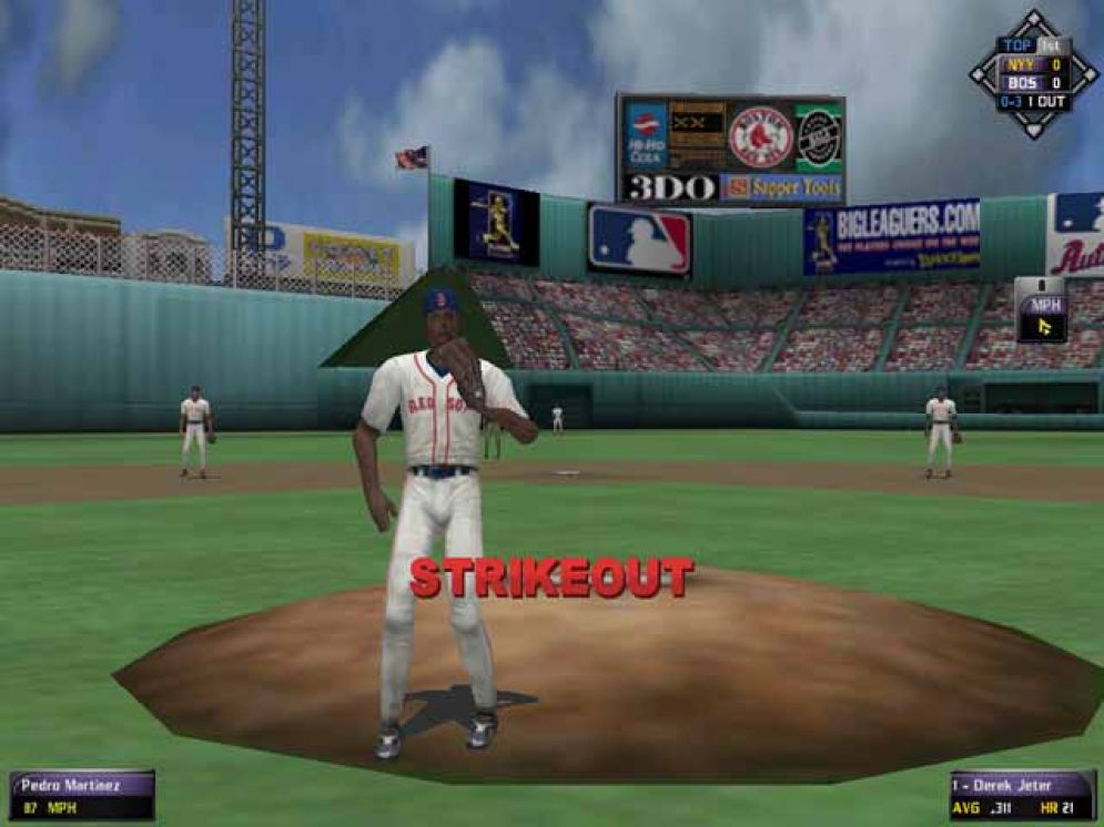 Screenshot ze hry High Heat Major League Baseball 2003  - Recenze-her.cz