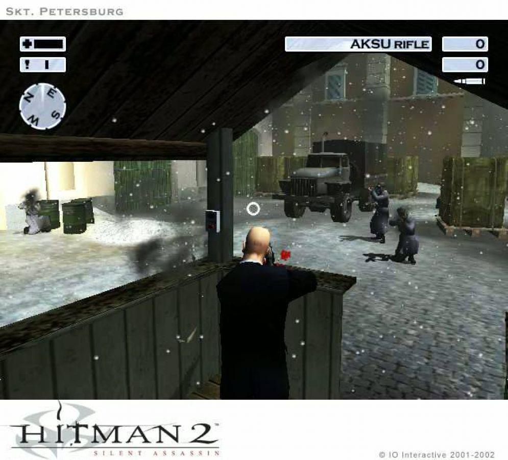 Screenshot ze hry Hitman 2: Silent Assassin - Recenze-her.cz