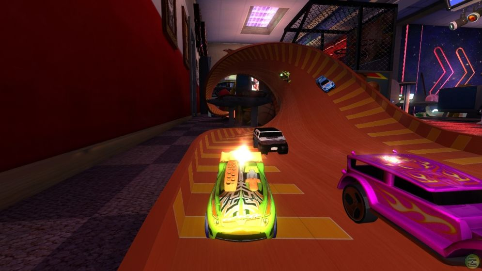 Screenshot ze hry Hot Wheels: Beat That! - Recenze-her.cz