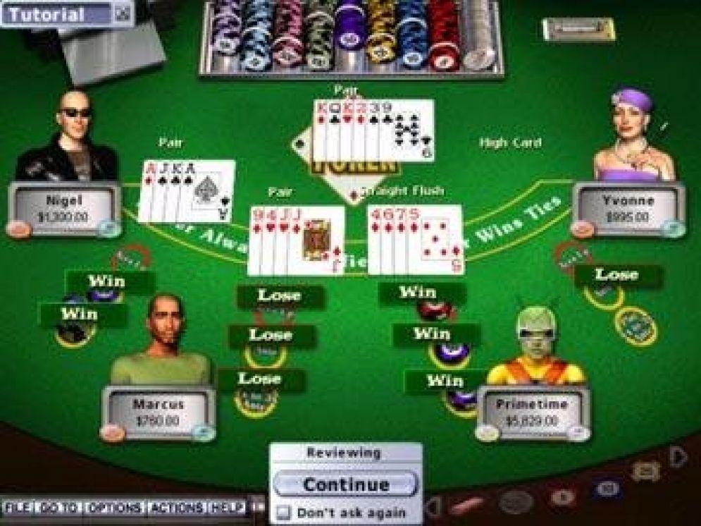 Screenshot ze hry Hoyle Casino 2006 - Recenze-her.cz