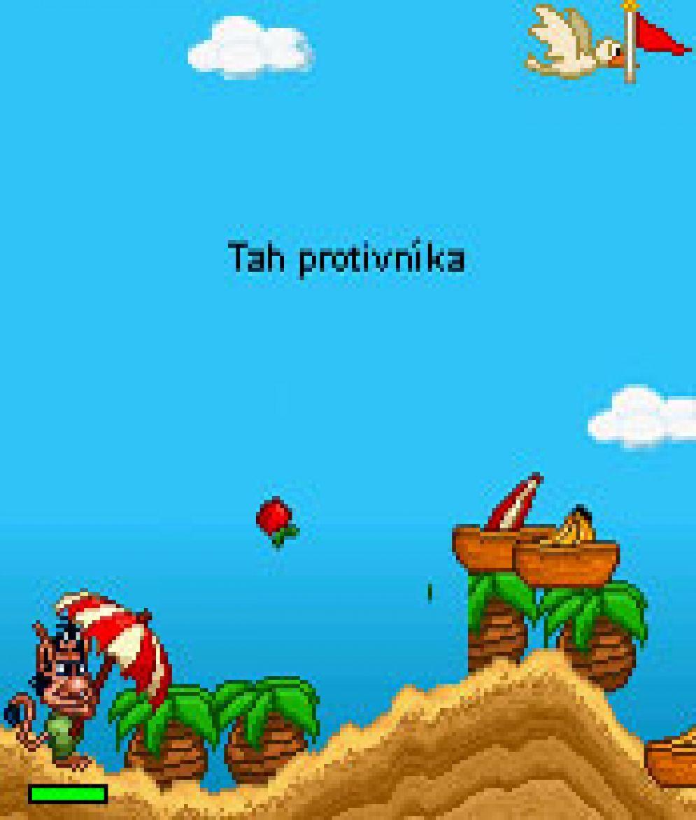 Screenshot ze hry Hugo Food Fight - Recenze-her.cz