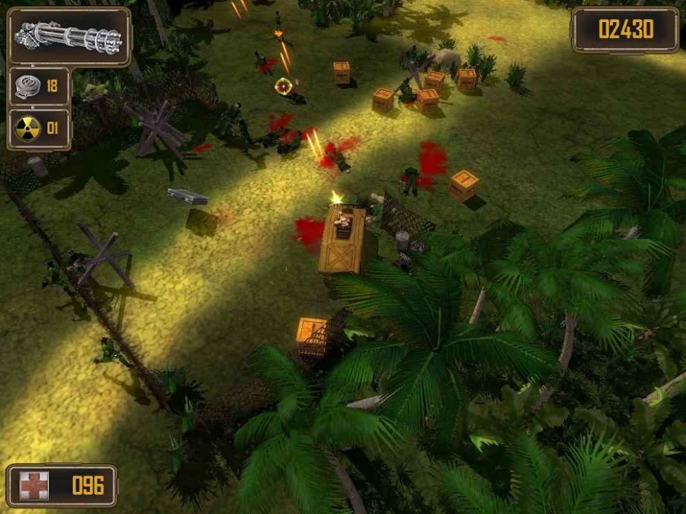 Screenshot ze hry Humvee Shootout - Recenze-her.cz