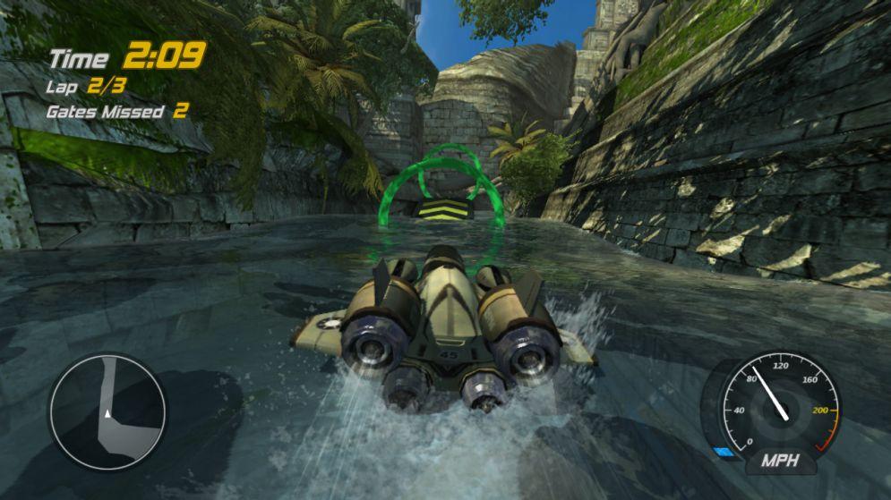 Screenshot ze hry Hydro Thunder Hurricane - Recenze-her.cz