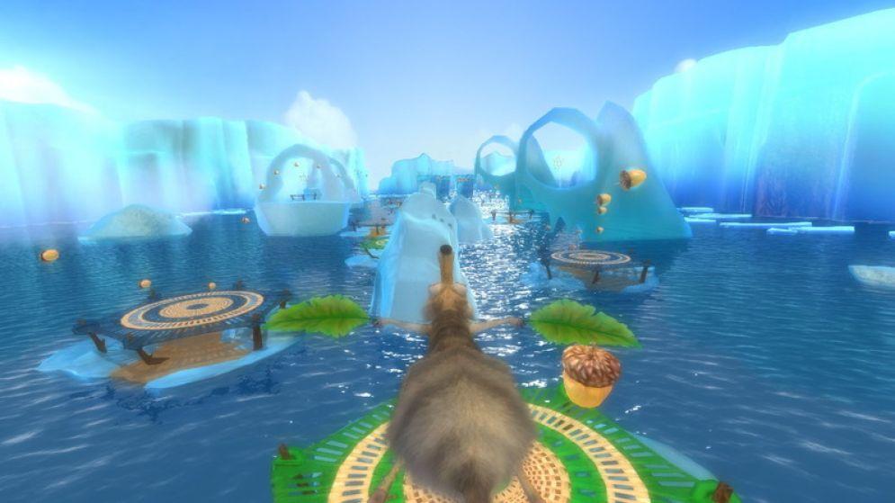 Screenshot ze hry Ice Age 4: Continental Drift - Arctic Games - Recenze-her.cz