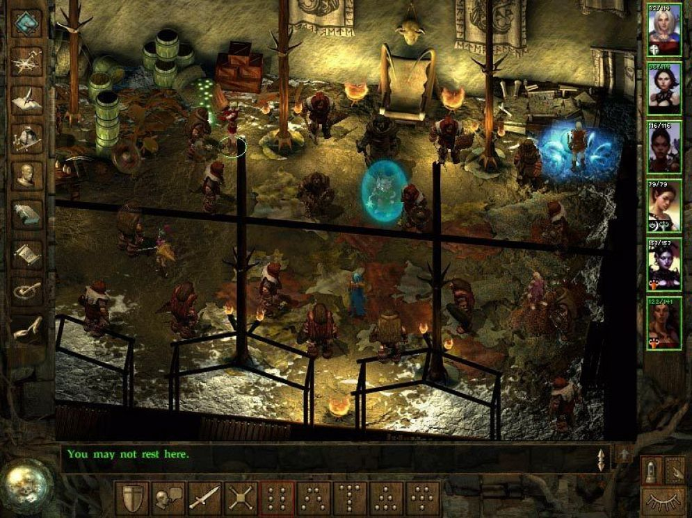 Screenshot ze hry Icewind Dale: Heart of the Winter - Recenze-her.cz