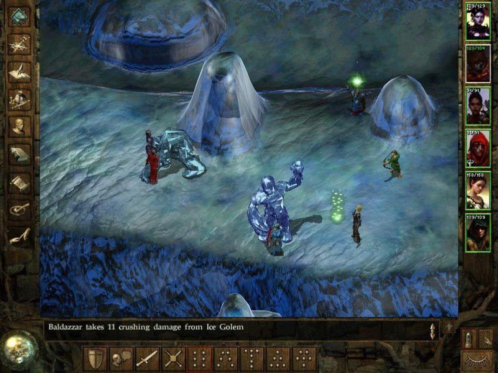 Screenshot ze hry Icewind Dale: Heart of the Winter - Recenze-her.cz