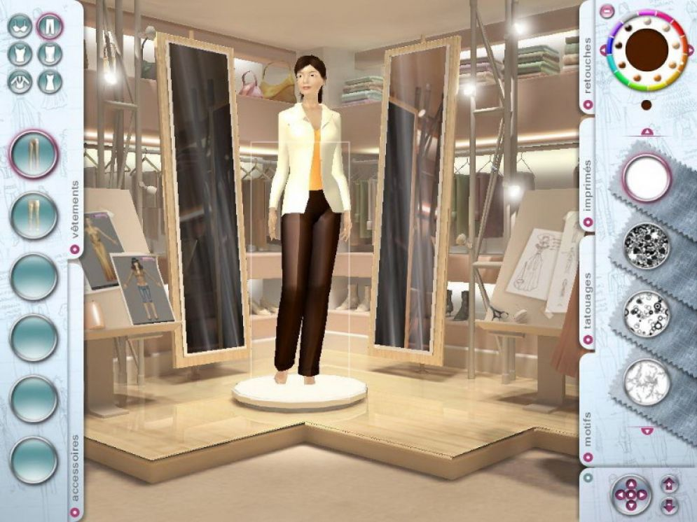 Screenshot ze hry Imagine: Fashion Designer - Recenze-her.cz