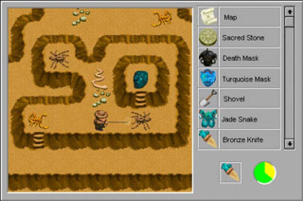Screenshot ze hry Indiana Jones and His Desktop Adventures - Recenze-her.cz