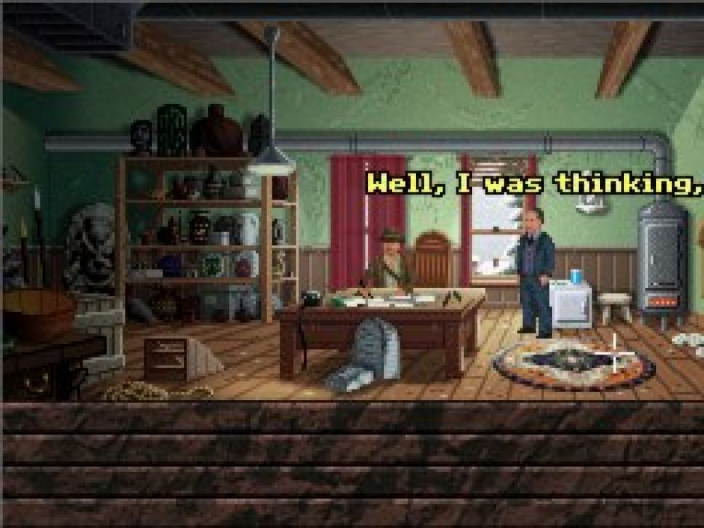 Screenshot ze hry Indiana Jones and The Pasage of Saints - Recenze-her.cz