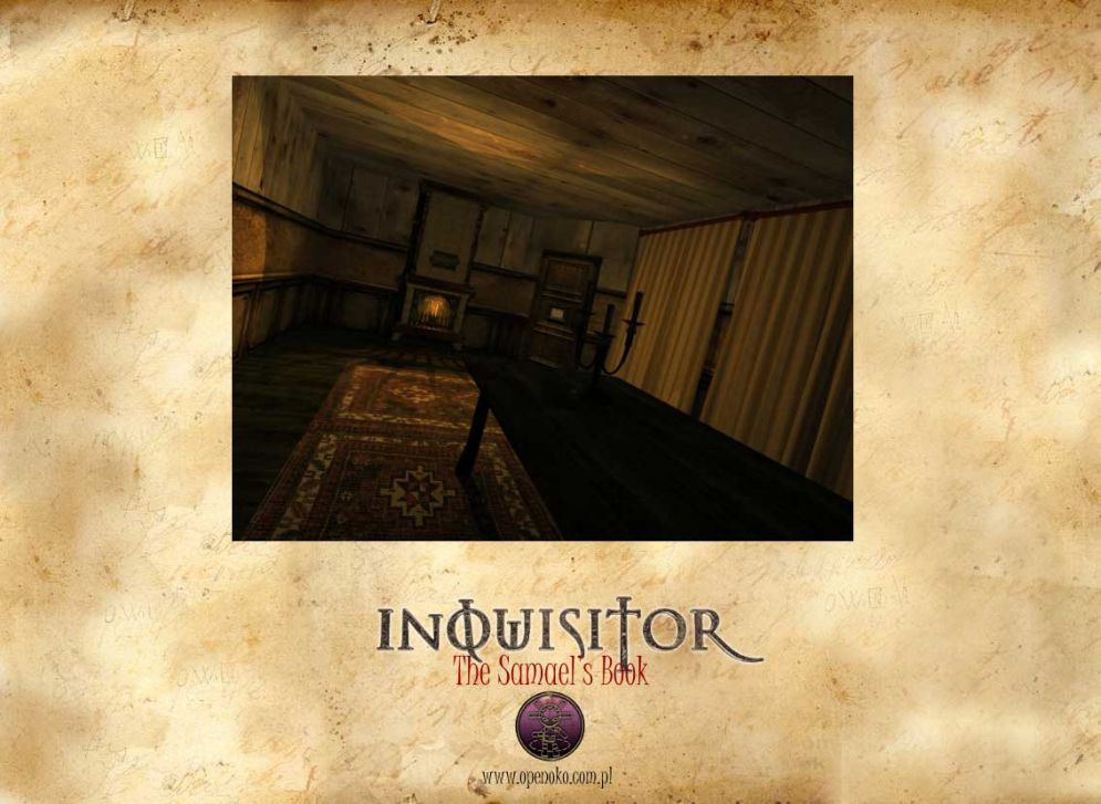 Screenshot ze hry Inquisitor: The Samael´s Book - Recenze-her.cz