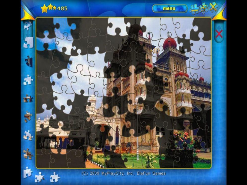 Screenshot ze hry Jigsaw Deluxe - Recenze-her.cz