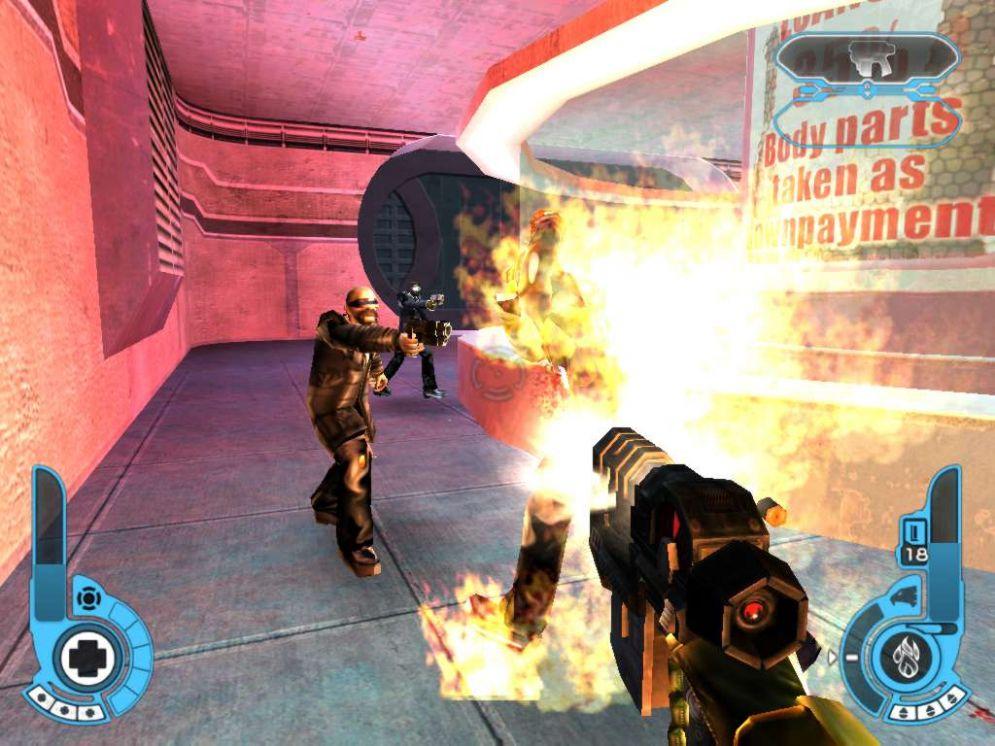Screenshot ze hry Judge Dredd: Dredd Versus Death - Recenze-her.cz