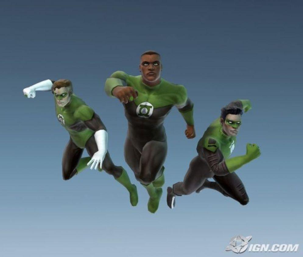 Screenshot ze hry Justice League Heroes - Recenze-her.cz